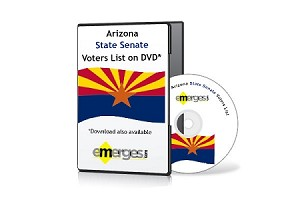 Arizona Registered Voters List by State Senate - Standard Unenhanced Version