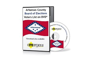 Arkansas Registered Voters List by County - Standard Unenhanced Version