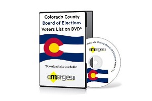 Colorado Registered Voters List by County - Standard Unenhanced Version