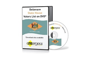Delaware Registered Voters List by State House of Representatives - Standard Unenhanced Version