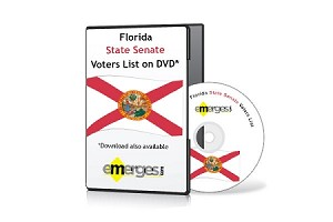 Florida Registered Voters List by State Senate - Standard Unenhanced Version
