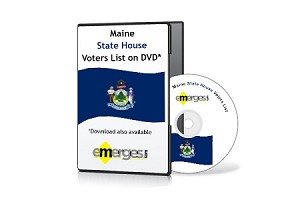 Maine Registered Voters List by State House of Representatives - Standard Unenhanced Version