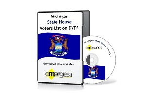 Michigan Registered Voters List by State House of Representatives - Standard Unenhanced Version