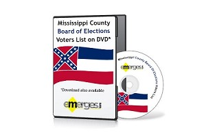 Mississippi Registered Voters List by County - Standard Unenhanced Version