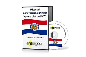 Missouri Registered Voters List by Congressional District - Standard Unenhanced Version