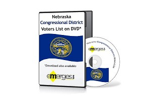Nebraska Registered Voters List by Congressional District - Standard Unenhanced Version