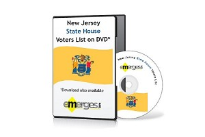 New Jersey Registered Voters List by State General Assembly - Standard Unenhanced Version