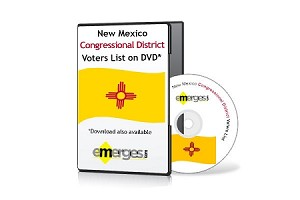 New Mexico Registered Voters List by Congressional District - Standard Unenhanced Version