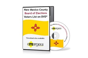 New Mexico Registered Voters List by County - Standard Unenhanced Version