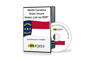 North Carolina Registered Voters List by State House of Representatives - Standard Unenhanced Version