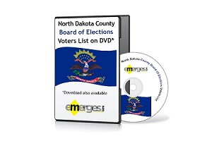 North Dakota Registered Voters List by County - Standard Unenhanced Version