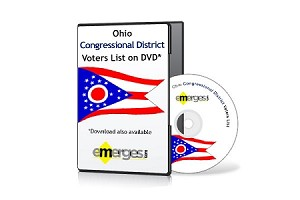 Ohio Registered Voters List by Congressional District - Standard Unenhanced Version