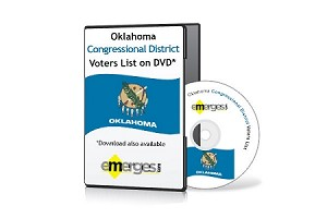Oklahoma Registered Voters List by Congressional District - Standard Unenhanced Version