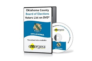 Oklahoma Registered Voters List by County - Standard Unenhanced Version