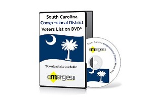 South Carolina Registered Voters List by Congressional District - Standard Unenhanced Version
