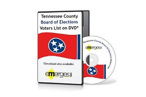 Tennessee Registered Voters List by County - Standard Unenhanced Version
