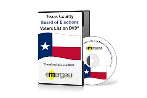 Texas Registered Voters List by County - Standard Unenhanced Version