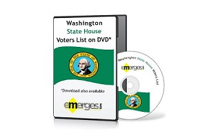 Washington Registered Voters List by State House of Representatives - Standard Unenhanced Version