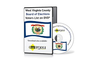 West Virginia Registered Voters List by County - Standard Unenhanced Version