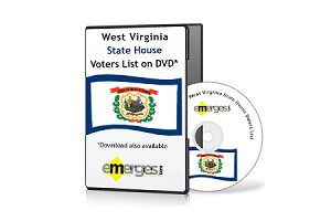 West Virginia Registered Voters List by State House of Delegates - Standard Unenhanced Version