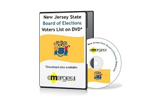 New Jersey Registered Voter Lists Statewide - Standard Unenhanced Version